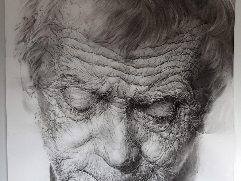 Paper portraits, by Omar Arraez