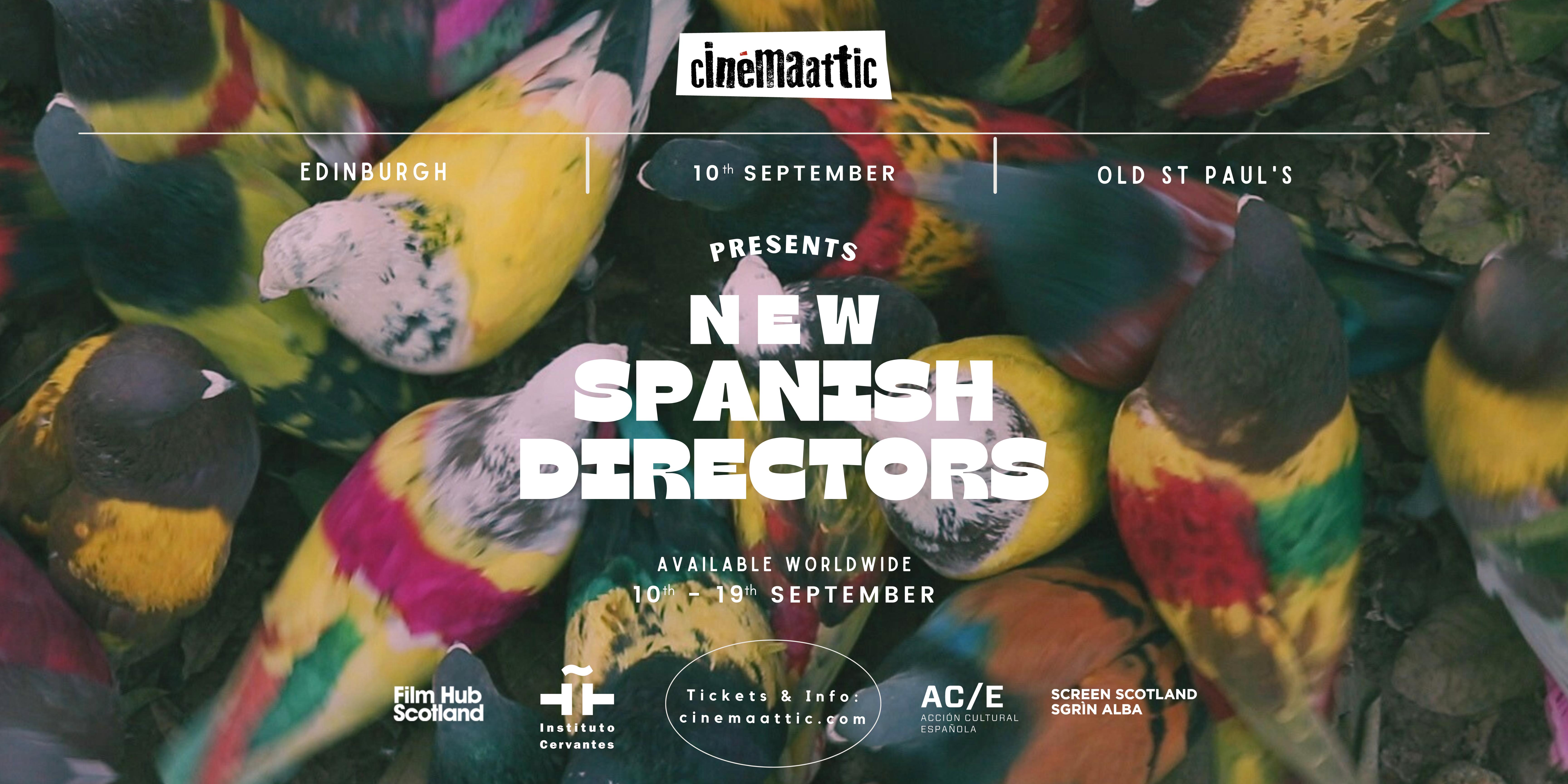 New Spanish Directors banner